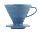 Hario V60-02 Ceramic Manual Brew Pourover Turkey Blue