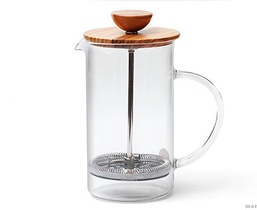 Hario Olive Wood Coffee and Tea Press