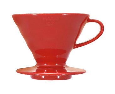 Hario V60-02 Ceramic Pourover Red
