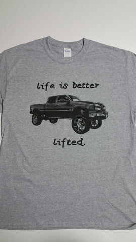 Life is Better Lifted Tee Shirt