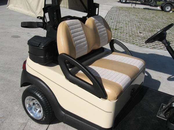 MOCHA / BEIGE FRONT COVERS CLUB CAR PRECEDENT