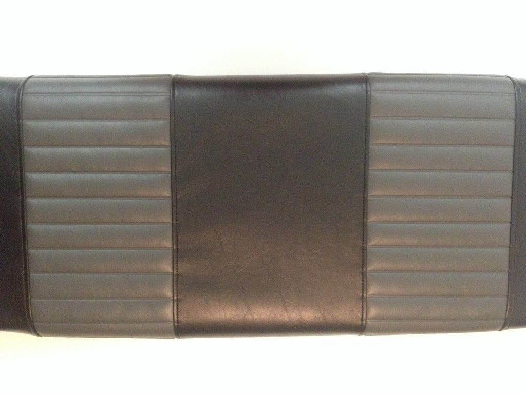 CLUB CAR DS 3pc FRONT COVERS BLACK / CHARCOAL