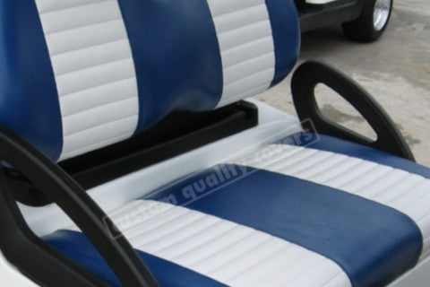 BLUE WITH WHITE PLEATS CLUB CAR DS 2000 AND UP