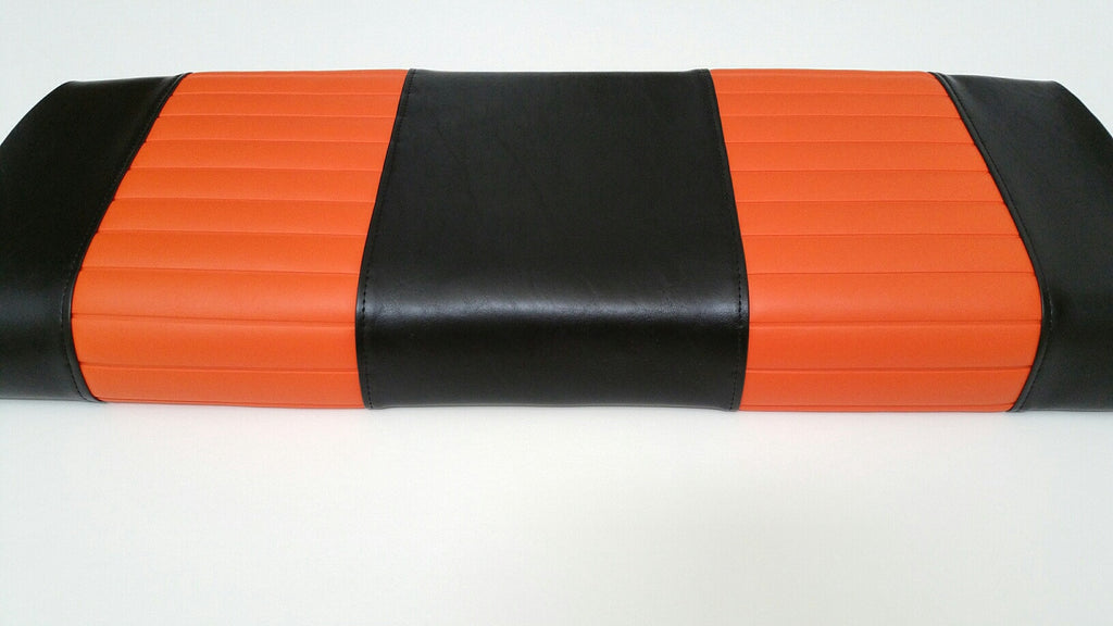 BLACK WITH ORANGE PLEATS club car DS 2000 AND UP