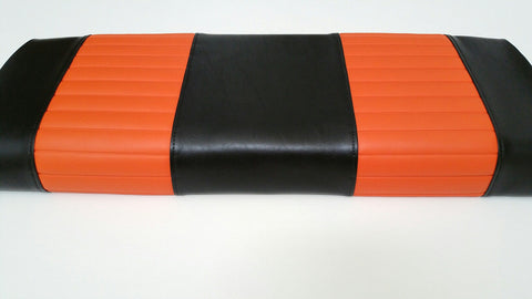 A BLACK AND ORANGE FRONT COVERS CLUB CAR PRECEDENT