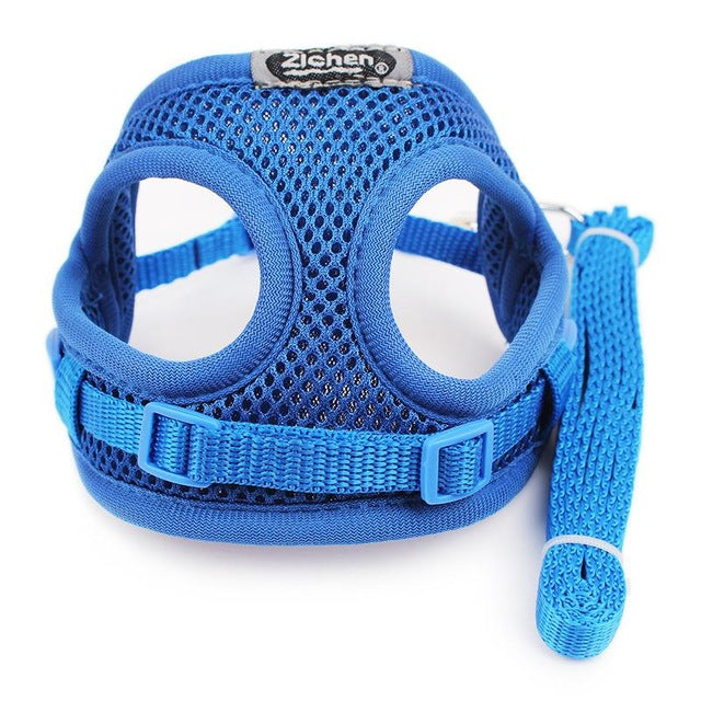 Dog Harness Vest Breathable Mesh Thicken