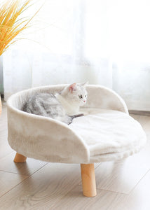 Coral Fleece Winter Warm Cat Sofa Mattress