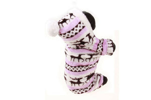 New Winter Fashion Warm Pet Clothes Pajama Cute Soft Cotton
