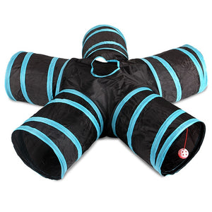 Multiway Collapsible Cat Tunnel Tube Tunnel