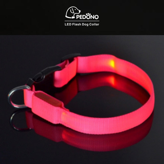 Amazing 3in1 Led Dog Collar Light Pet Collars