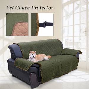 Dog Bed Mat Pet Sofa Cover 3 Seat Anti-Skip Reversible Dog Couch Sofa Protector Blanket