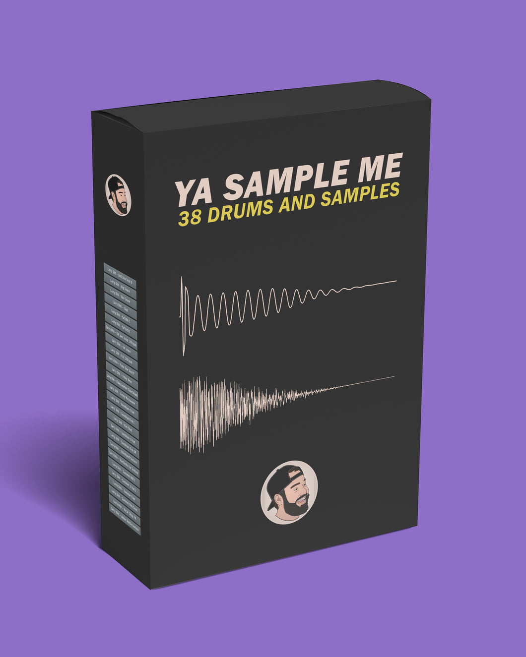 Sample Pack with 38 Drums and Samples!