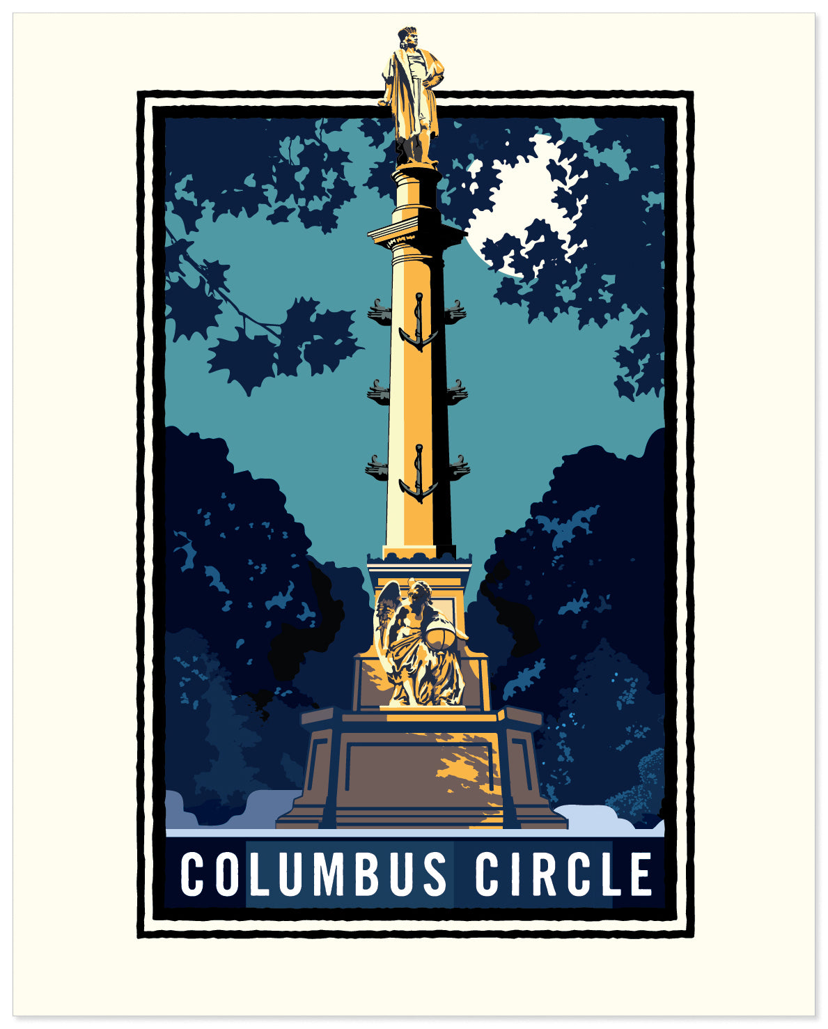 Landmark Series | NY Columbus Circle