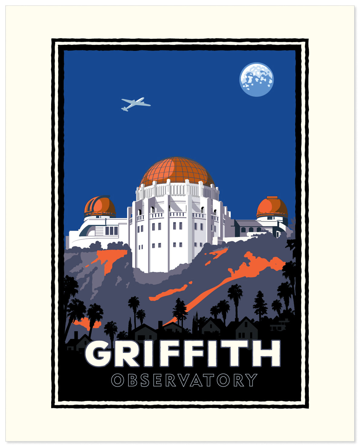 Landmark CA | Griffith Park Observatory Mountainside