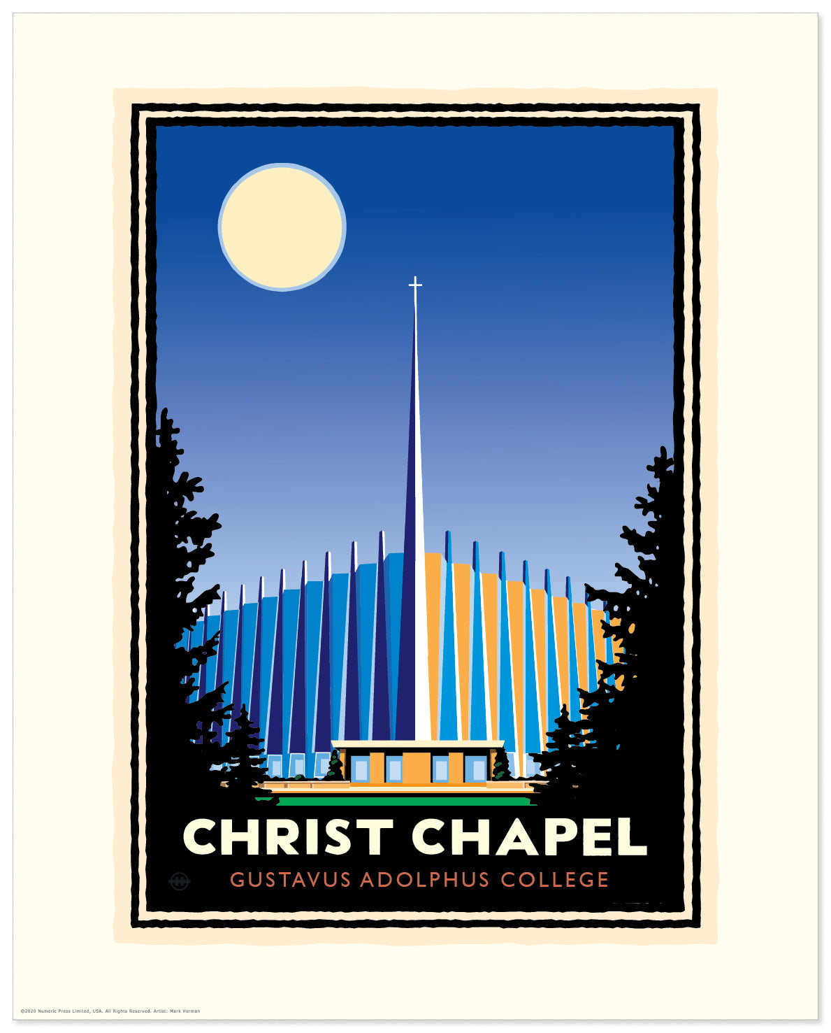 "Landmark University | Gustavus ""Christ Chapel"""
