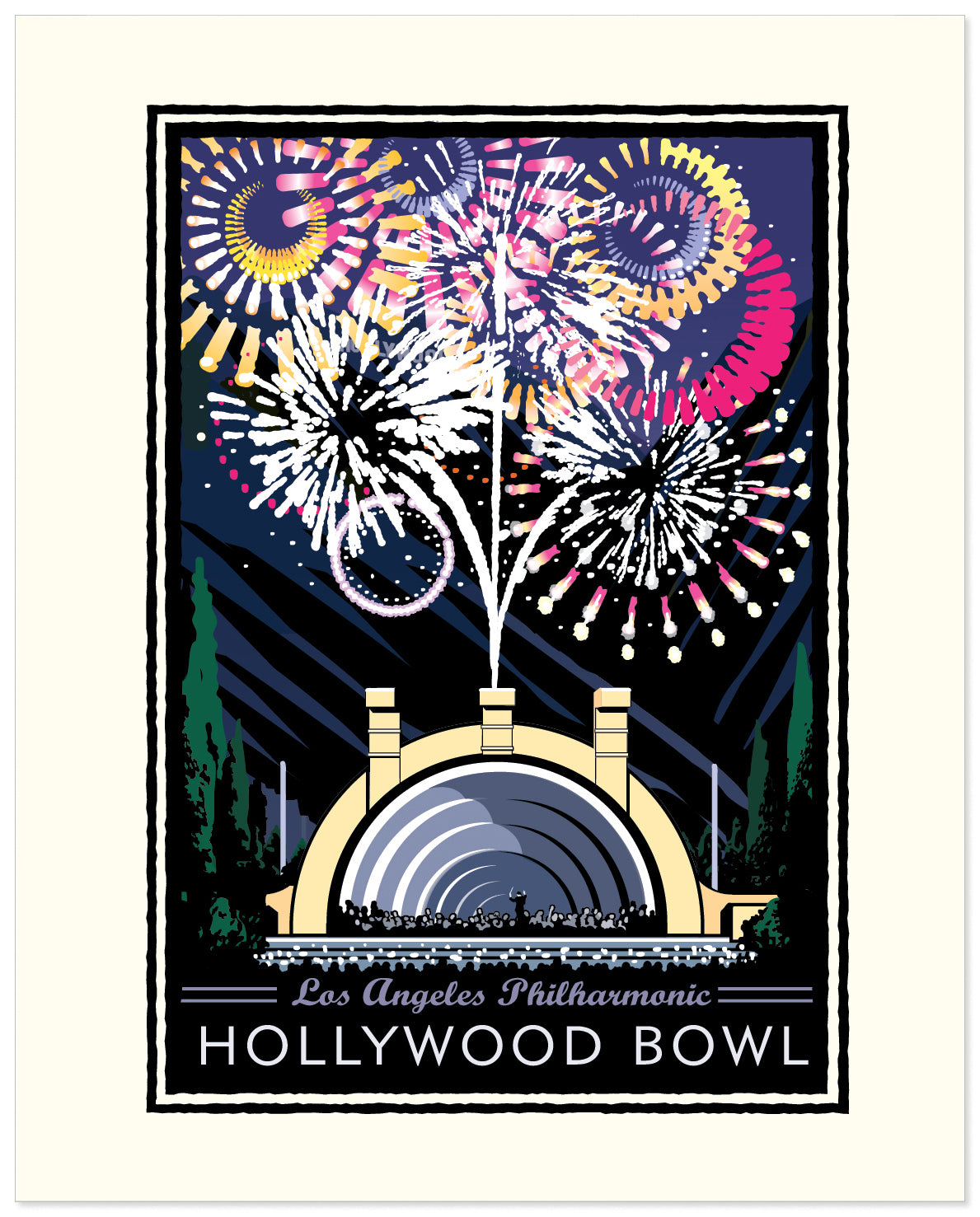 Landmark CA | Hollywood Bowl Fireworks