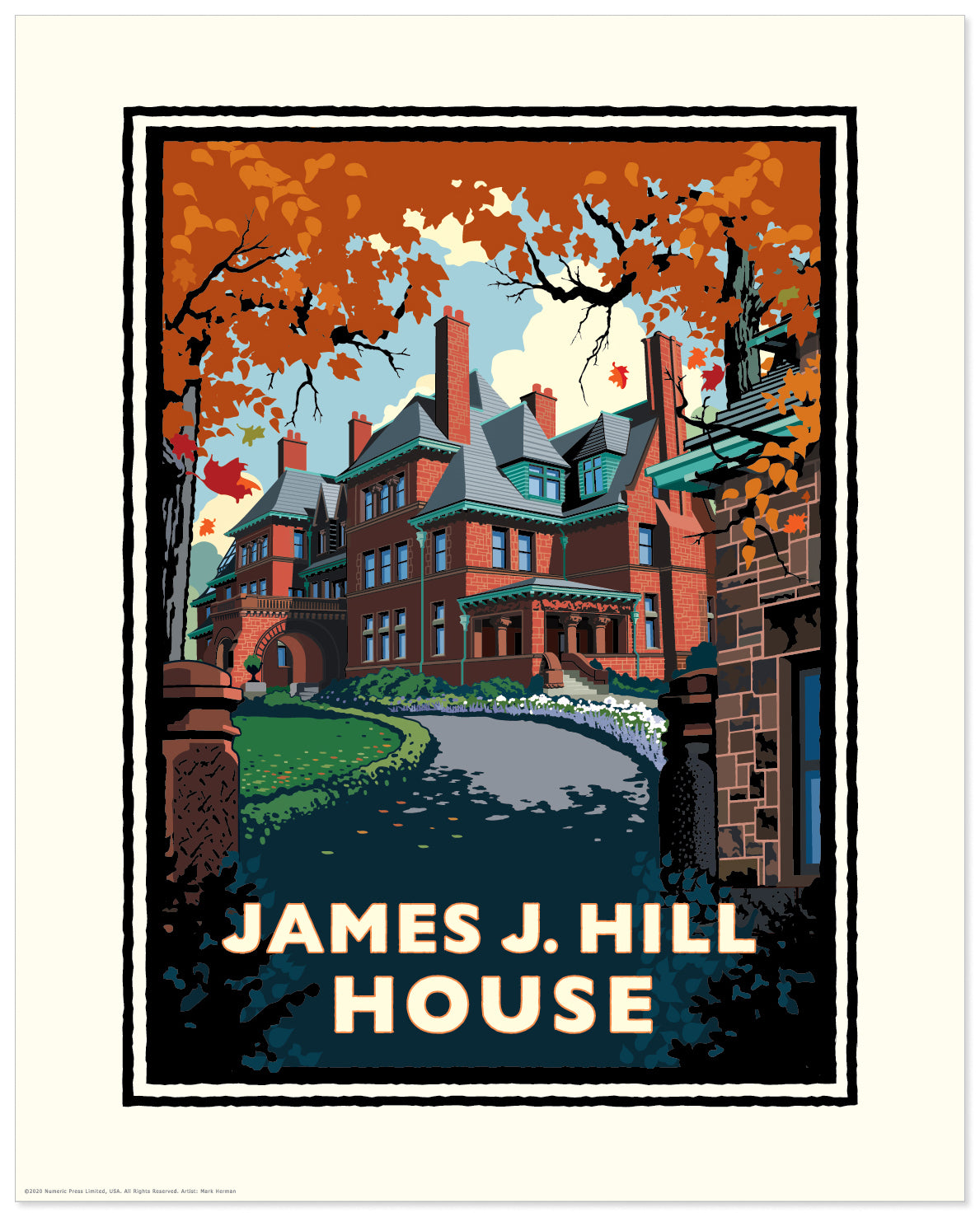 Landmark MN | James J. Hill House St. Paul