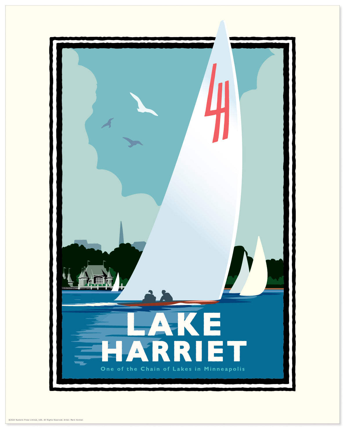 Landmark MN | Lake Harriet Sail