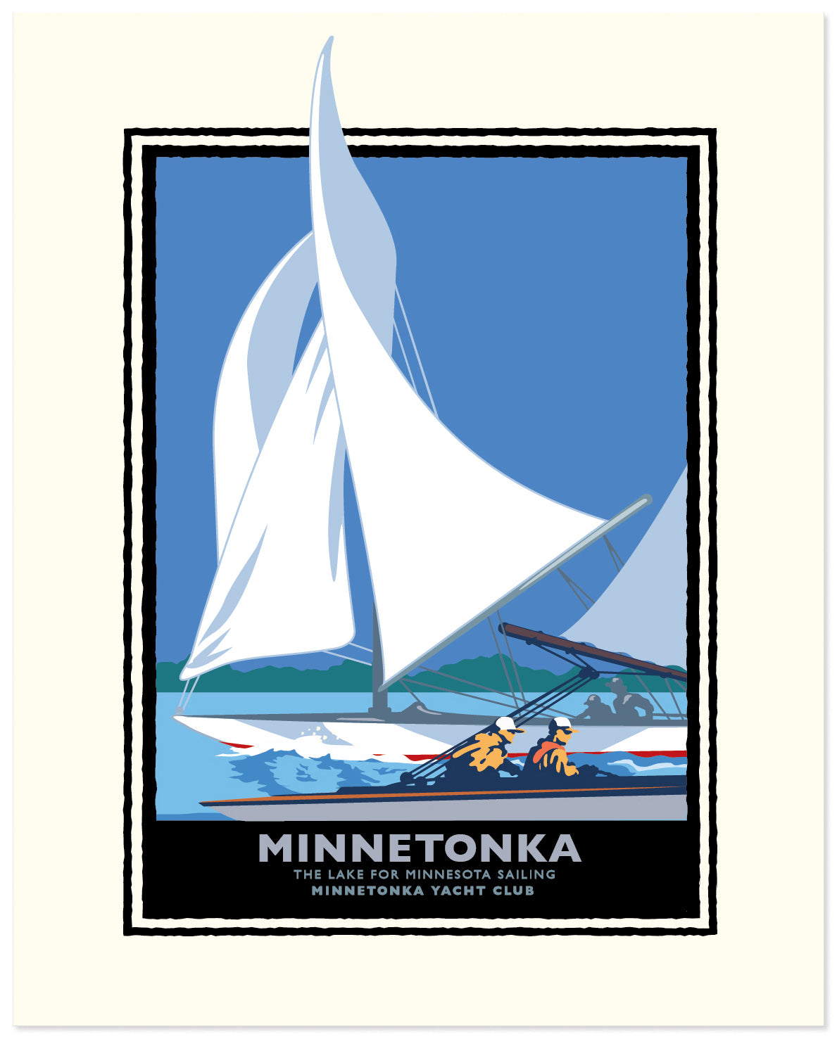 Landmark MN | Lake Minnetonka Sail
