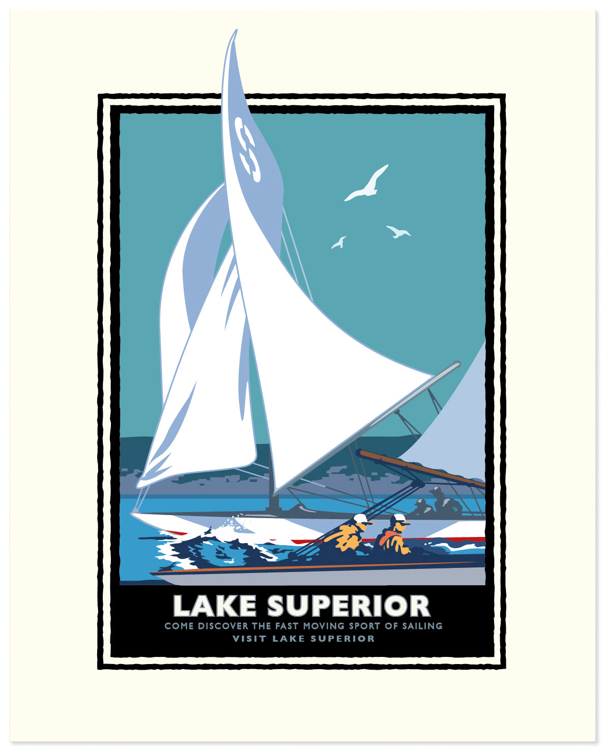 Landmark MN | Lake Superior Sail