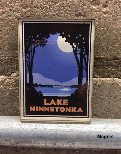 Landmark Series | MN Lake Minnetonka Moonlight by Mark Herman
