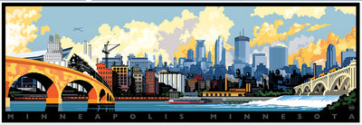 Minneapolis Skyline Puzzle