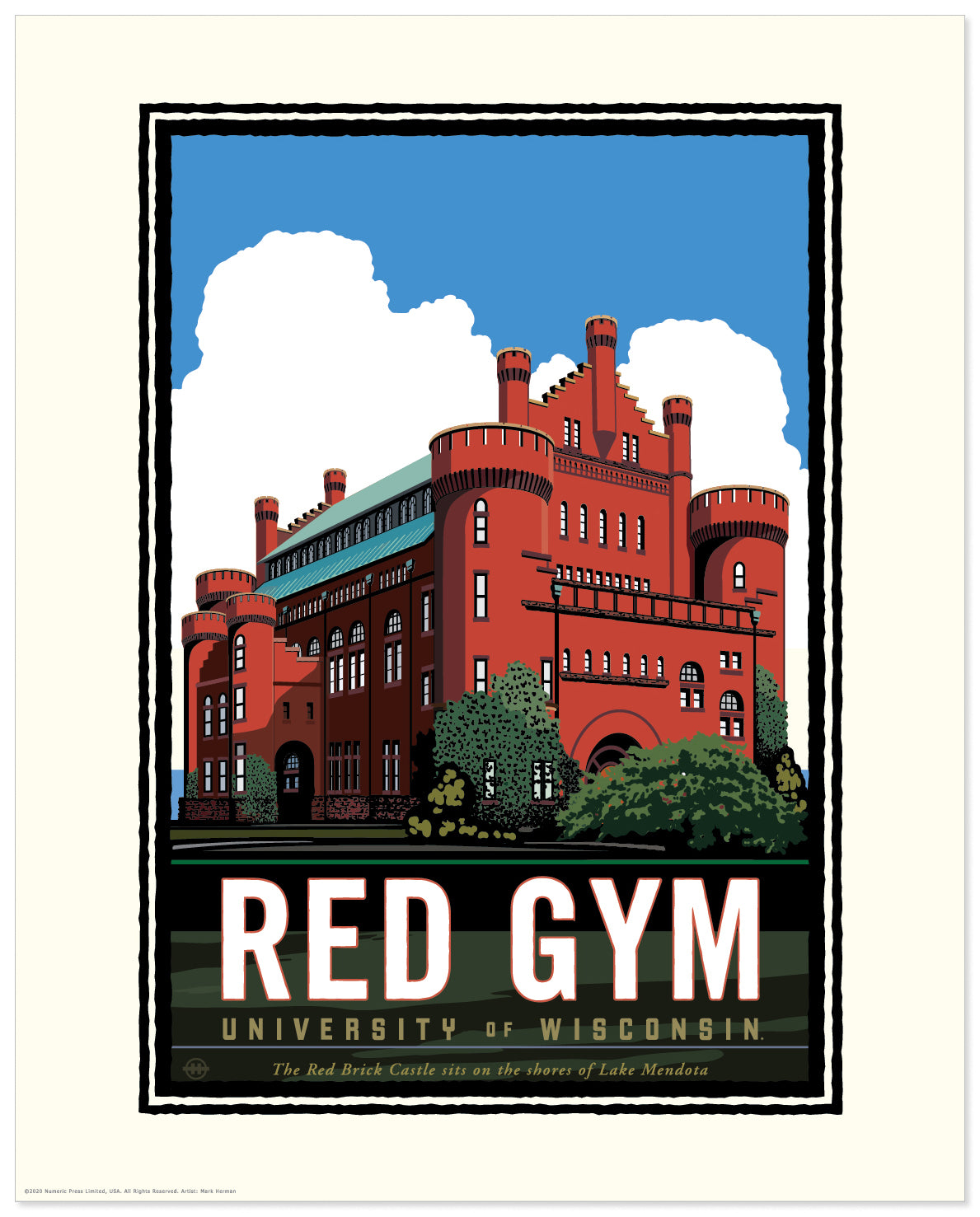 Landmark University | UW-Madison Badgers Red Gym