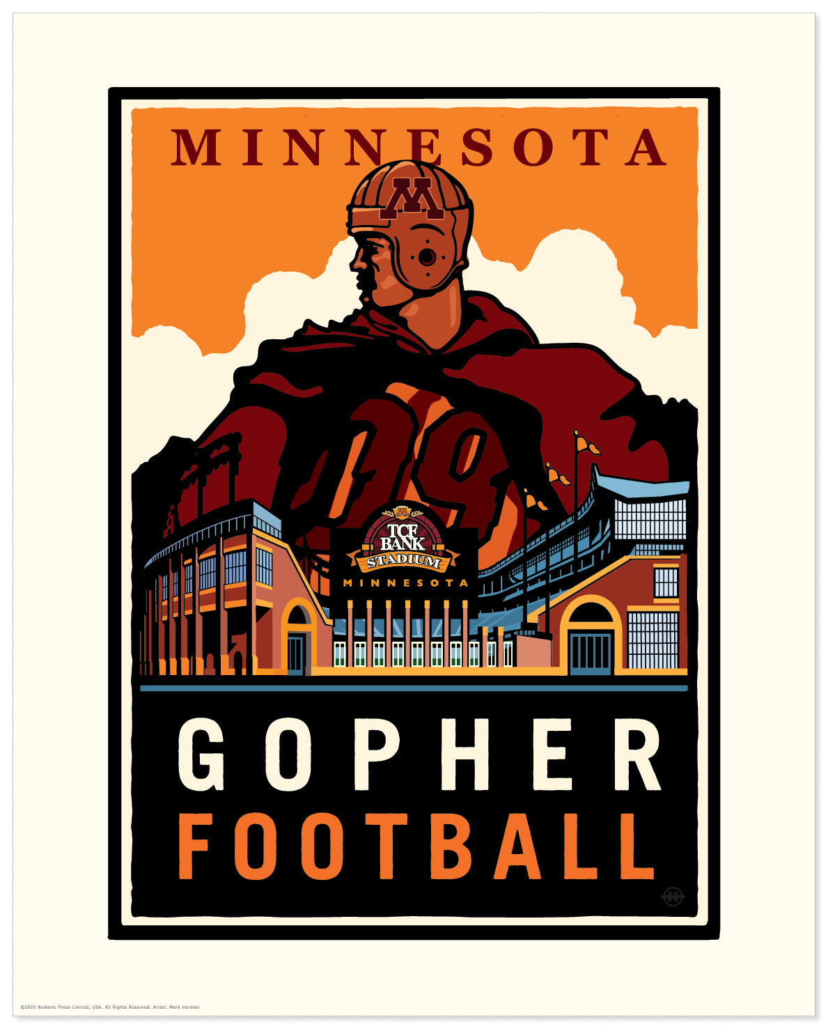 University of Minnesota Gopher Football