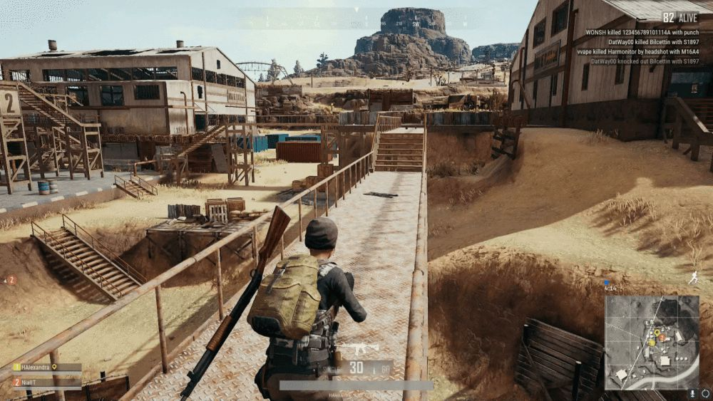 PUBG Gameplay screenshot