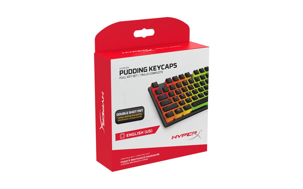 HyperX Pudding Double Shot PBT Klavišų Rinkinys - Spacebar.gg