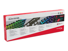 Load image into Gallery viewer, HyperX Alloy FPS RGB Wired Gaming Keyboard - SPACEBAR-ENG