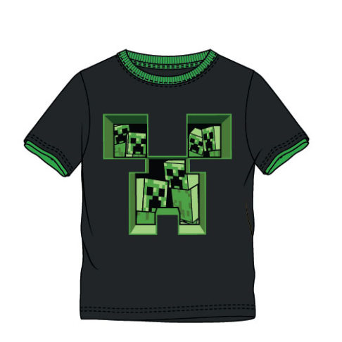 Minecraft Creepers in The Creeper T-Shirt - SPACEBAR-ENG