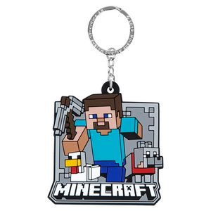 Minecraft Mobs Group Keychain - SPACEBAR