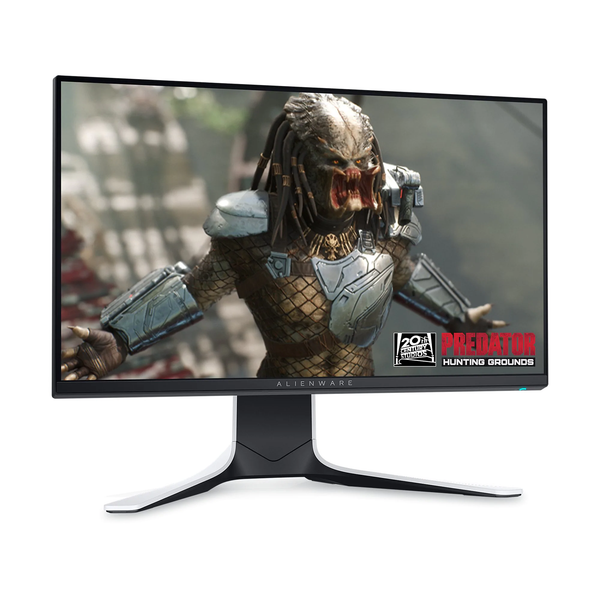 "Dell Alienware AW2521HFLA Lunar Light 24.5"" IPS 240Hz Gaming Monitor"