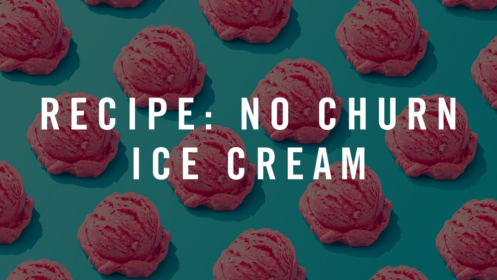 Recipe: No-Churn Ice Cream with Rose & Pink Peppercorn Almonds