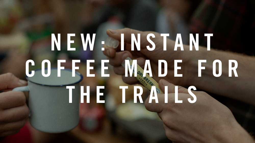 Instant Coffee Made for the Trail