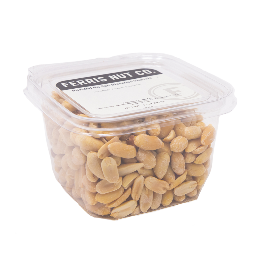 Blanched Peanuts (Roasted, No Salt) 10 oz.