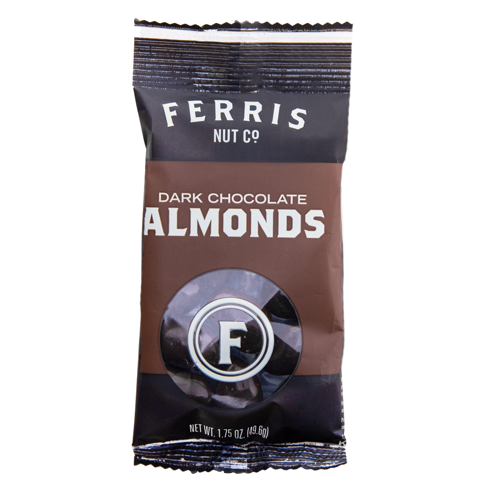 Dark Chocolate Almonds Grab + Go 12-count 1.75 oz.