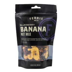 Blueberry Banana Nut Mix (Roasted Salted) 10 oz. - Ferris Coffee & Nut Co.