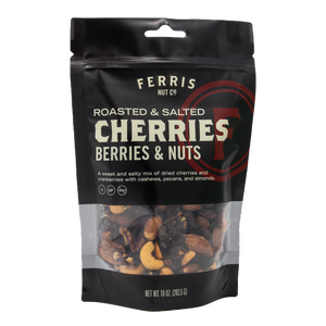 ferris nuts, 10-ounce classic bag, cherries berries and nuts