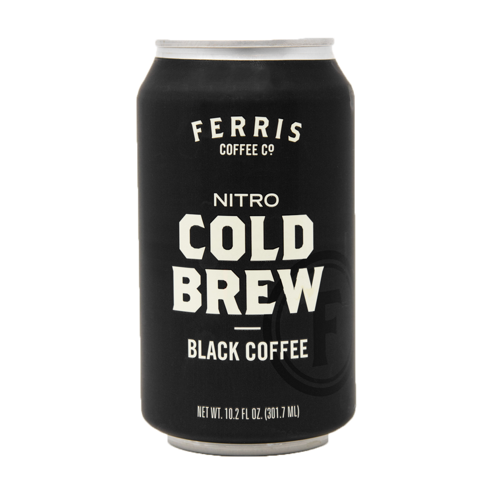 Nitro Cold Brew Black Coffee - Ferris Coffee & Nut Co.