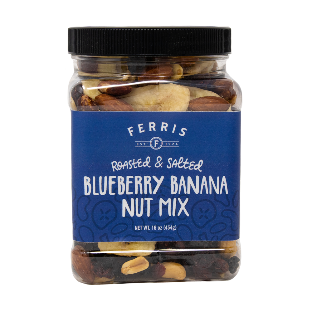 Blueberry Banana Nut Mix (Roasted Salted)