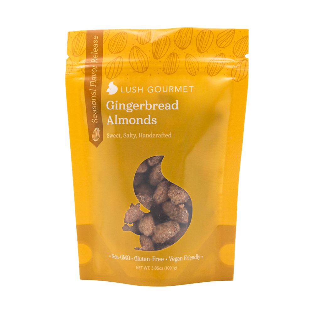 Gingerbread Almonds