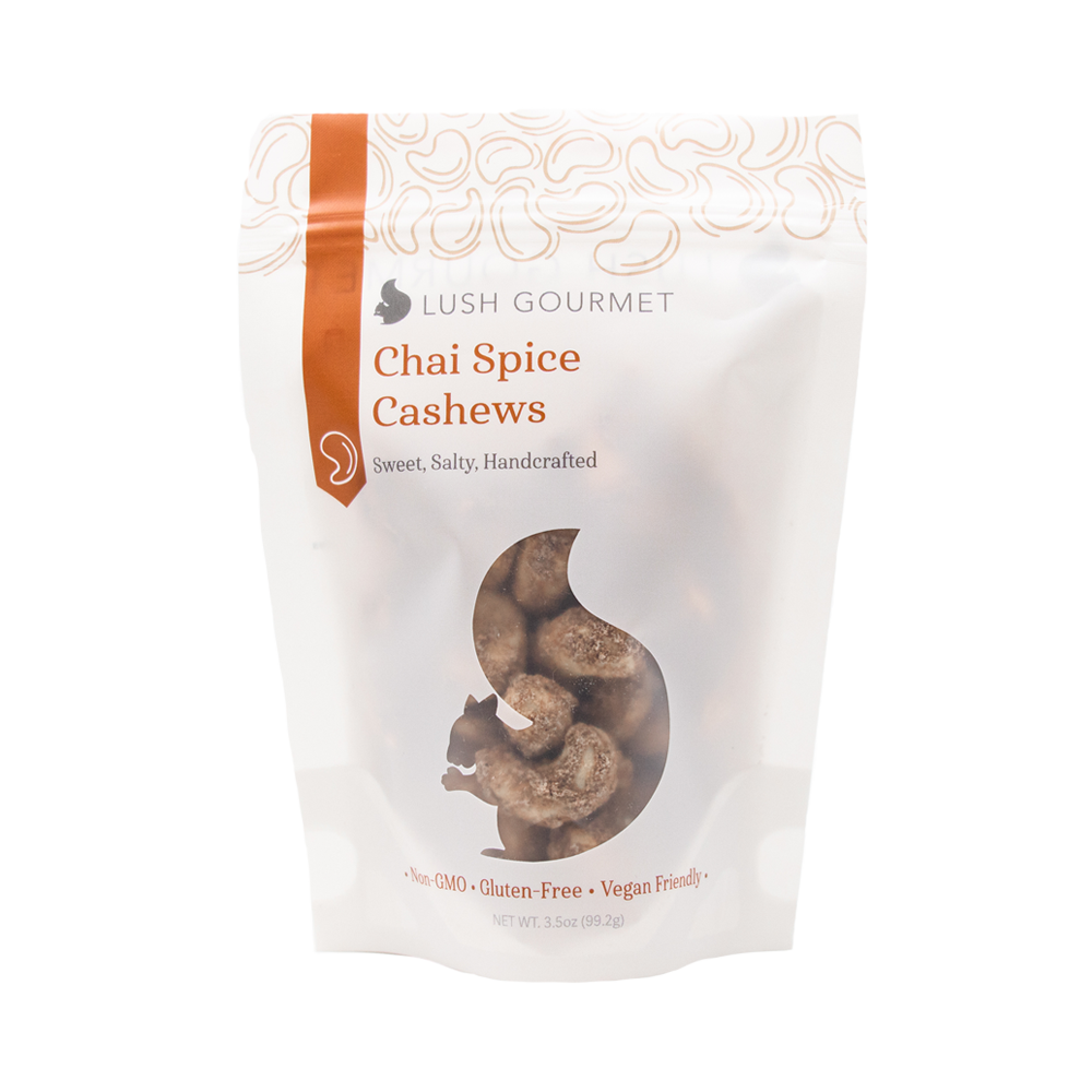 Chai Spice Cashews 3.5 oz. - Ferris Coffee & Nut Co.