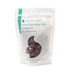 Chocolate Sea Salt Cashews 3.5 oz. - Ferris Coffee & Nut Co.