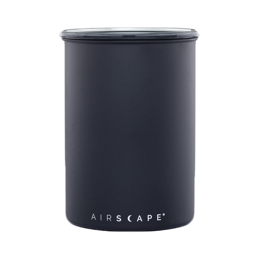 airscape matte black canister, 7-inches