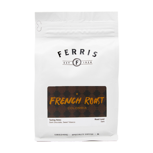ferris coffee, 12-ounce, colombia french roast