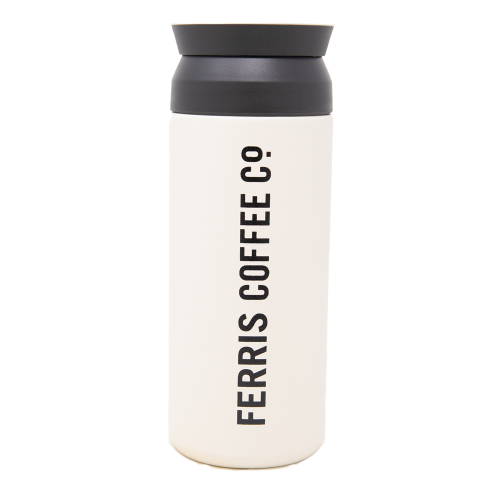 Logo Travel Tumbler 16 oz. (White)