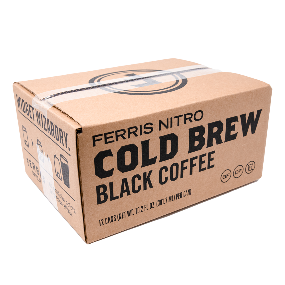 Nitro Cold Brew Black Coffee