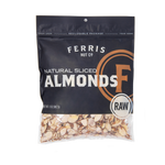 ferris nuts, 16-ounce bag, natural sliced almonds raw